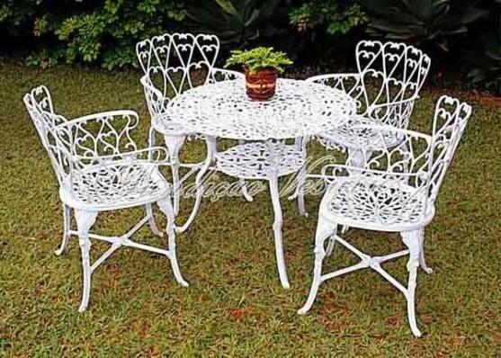Conjunto De Mesa Com 4 Cadeiras De Ferro Fundido Para Jardim Cor Branca Retirar No Lo Cadeiras De Ferro Mesa E Cadeiras Para Jardim Mesa 4 Cadeiras