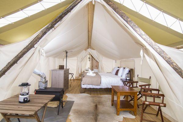#glamping Teepee Tents Luxury Campground Utah –Glam Camping Utah –Utah Camping