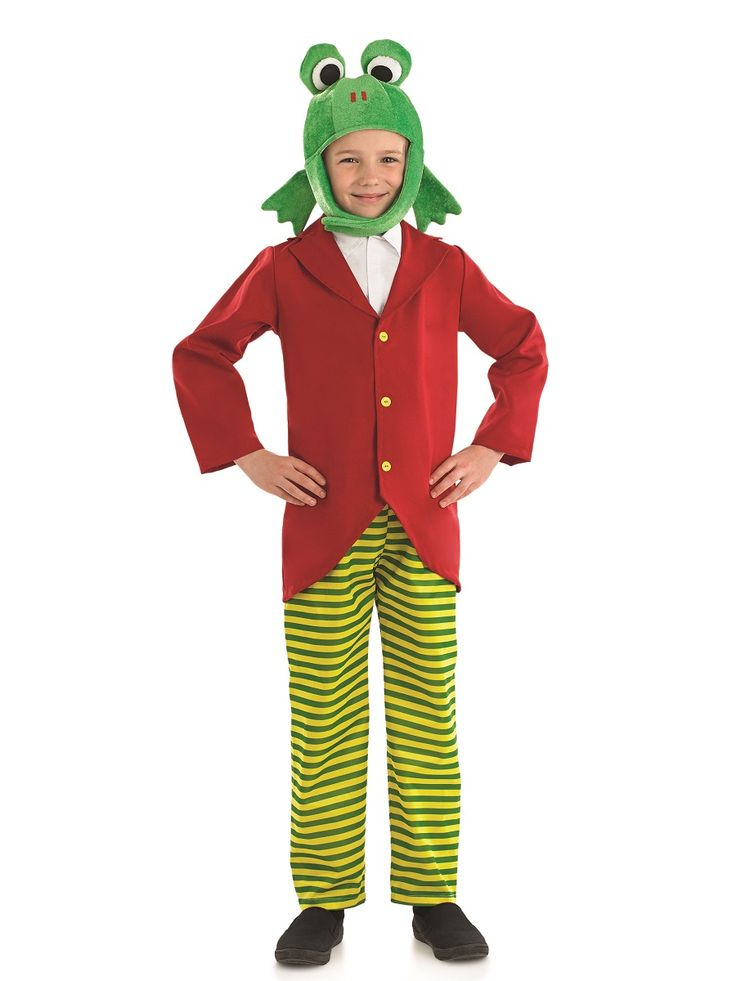 Child Mr Frog Costume