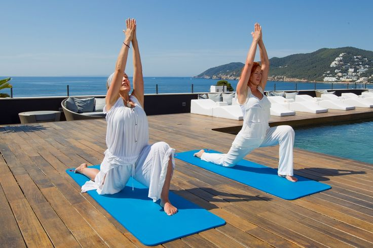 Tailored Yoga classes on a luxury solo holiday to Aguas de Ibiza, on the island of Ibiza, Spain.