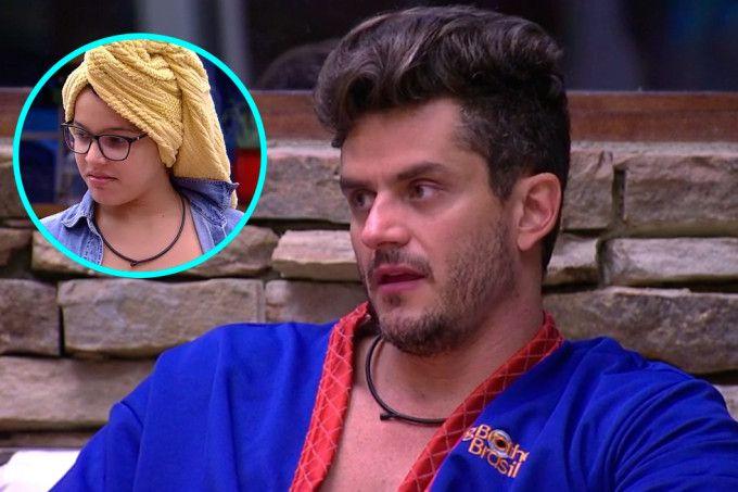 """Marcos conversa sobre Emilly e dispara: """"Ela é muito possessiva"""""""