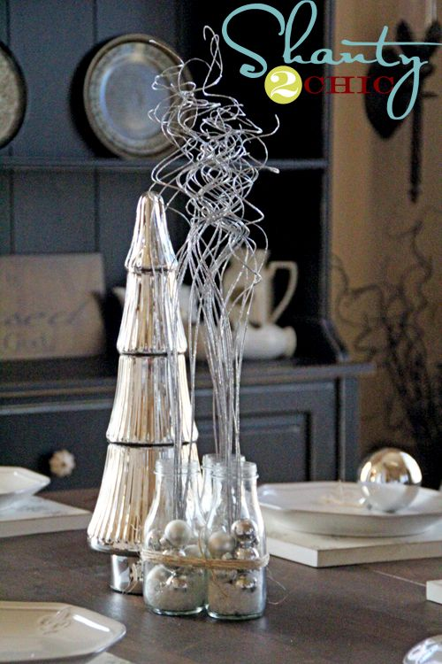 Best cheap christmas centerpieces ideas on pinterest