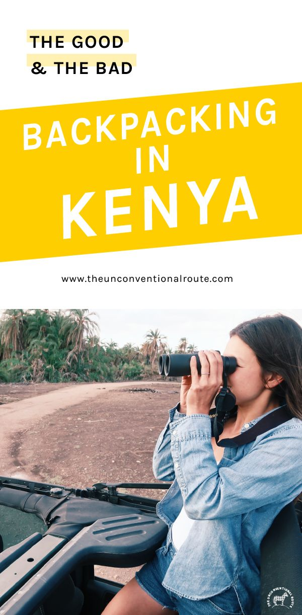 Backpacking in Kenya is possible! With a bit of work and planning, you too can have an awesome trip to Kenya while sticking to a budget. www.theunconventionalroute.com #budgetravel #backpackingkenya #kenyatravel #howtotravelkenya #kenya #backpackers