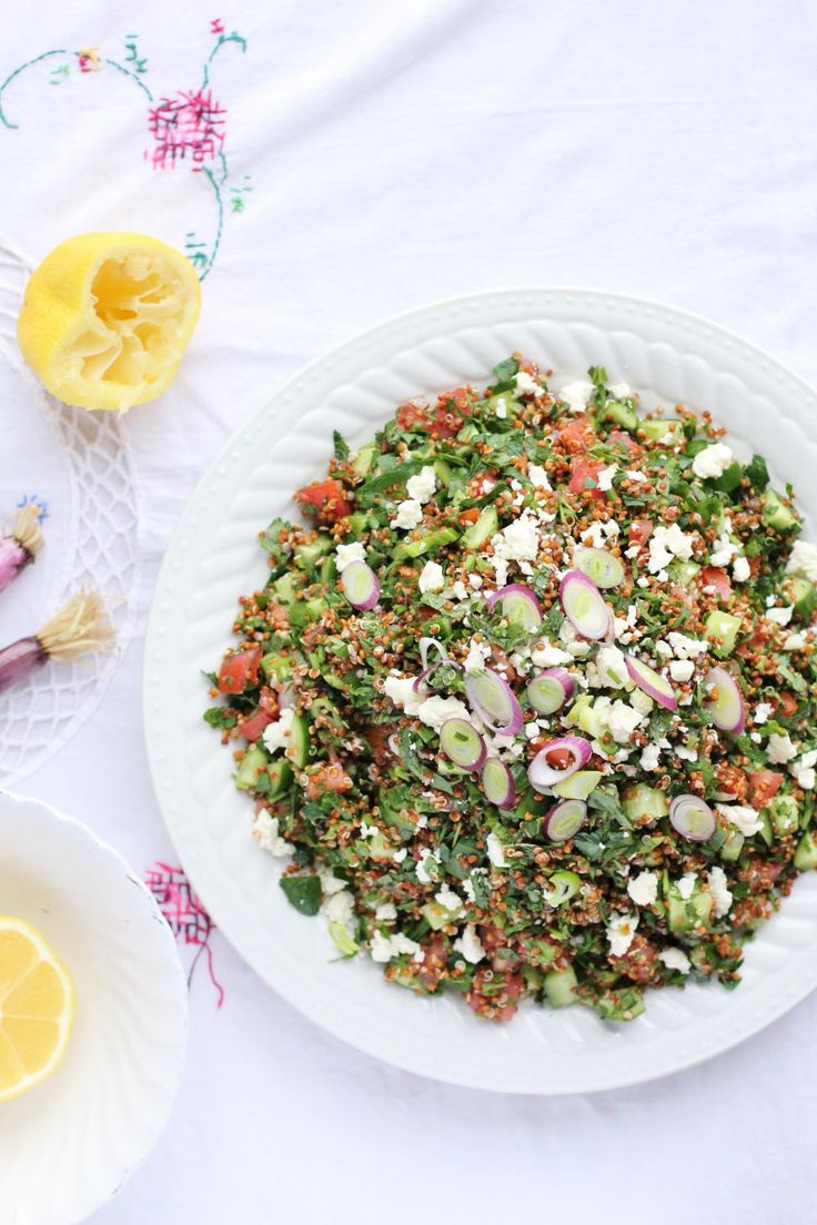 The 25 best quinoa tabbouleh ideas on pinterest quinoa tabouleh red quinoa tabbouleh a healthy flavourful vegetarian side get the recipe forumfinder Images