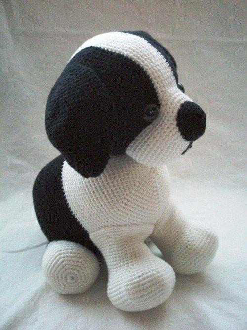 Domino The Dog Amigurumi Crochet Pattern : 17 migliori immagini su amigurumi dogs su Pinterest ...