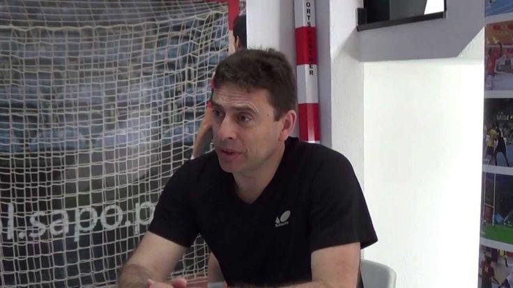 Presidente da Federação Portuguesa Ténis de Mesa visita Sports Partner
