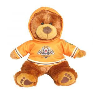 Tigers Plush Toys Supporter t-shirts with hood printed with team colours and logos