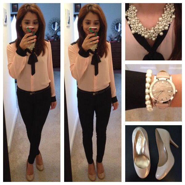 No to the pearls i would keep it simple with more arm candy or rings or a nice pair of earrings