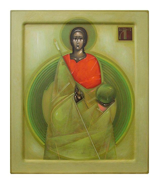 Archanioł Gabriel Strona prezentująca współczesne ikony | Greta Leśko