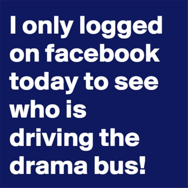 Funny Quotes About Drama: 17 Best Images About Facebook Sucks/ Social Media On