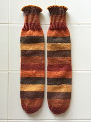 Ravelry: kokoriffic's Maple Leaves Kiddo Tube Socks for CKW