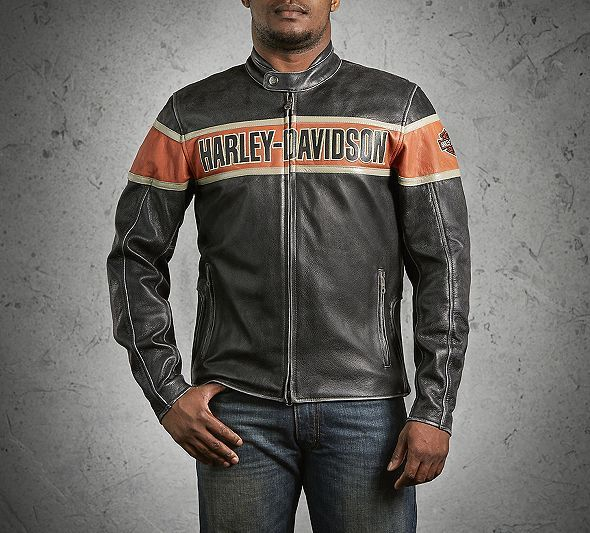 Men's Victory Lane Leather Jacket | Leather | Official Harley-Davidson Online Store
