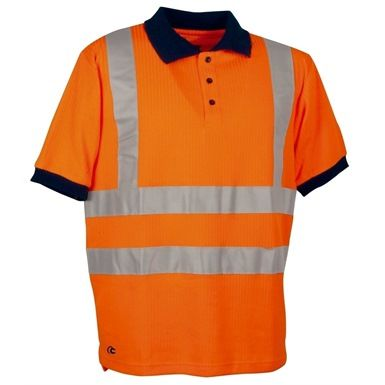 Ideal for both workmen/women & cyclists alike, this Cofra Spotlight Hi Vis Polo Shirt with its 3M reflex stripes across the waist and chest, is designed to increase the wearers presence in low visibility.