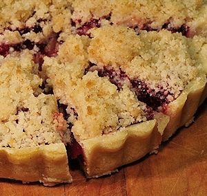 Cherry Crumb Pie - Pennsylvania Dutch Cooking from AlansKitchen.com