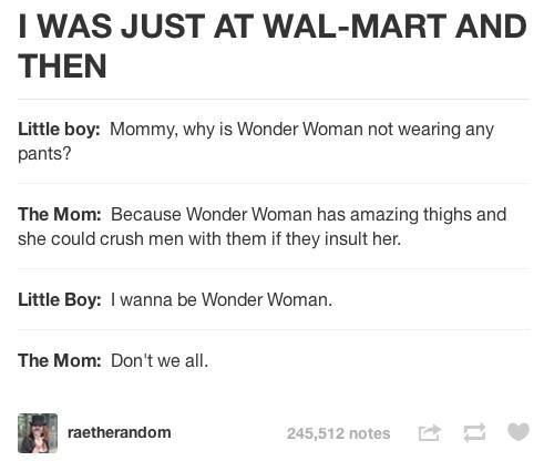 yeah wonder woman!