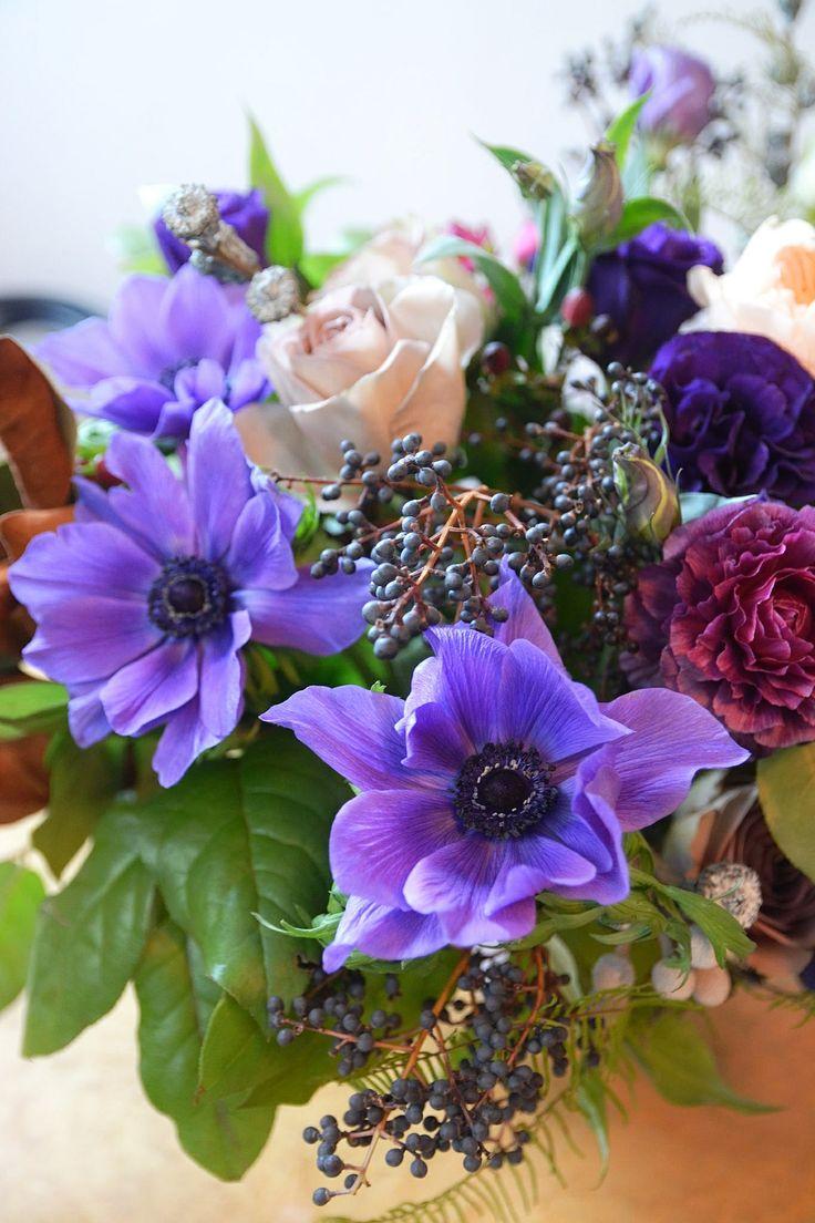 Centerpiece loose and garden like arrangements per