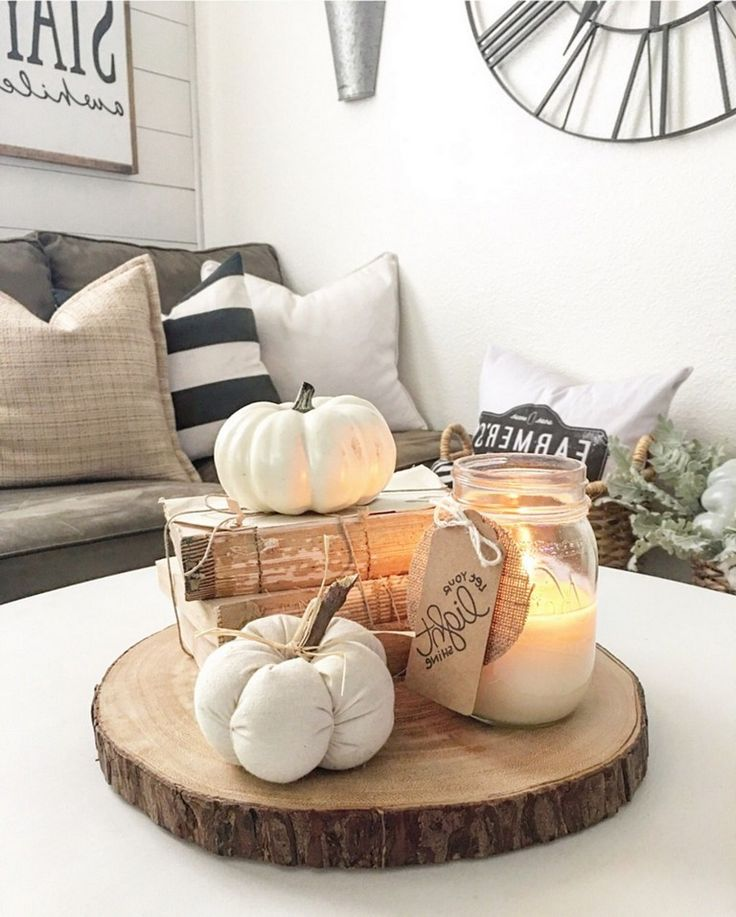 55+ Gorgeous Living Room Fall Decorations Ideas