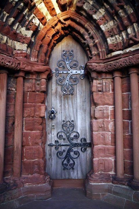 Cathedral Door of St Magnus ~ Scotland