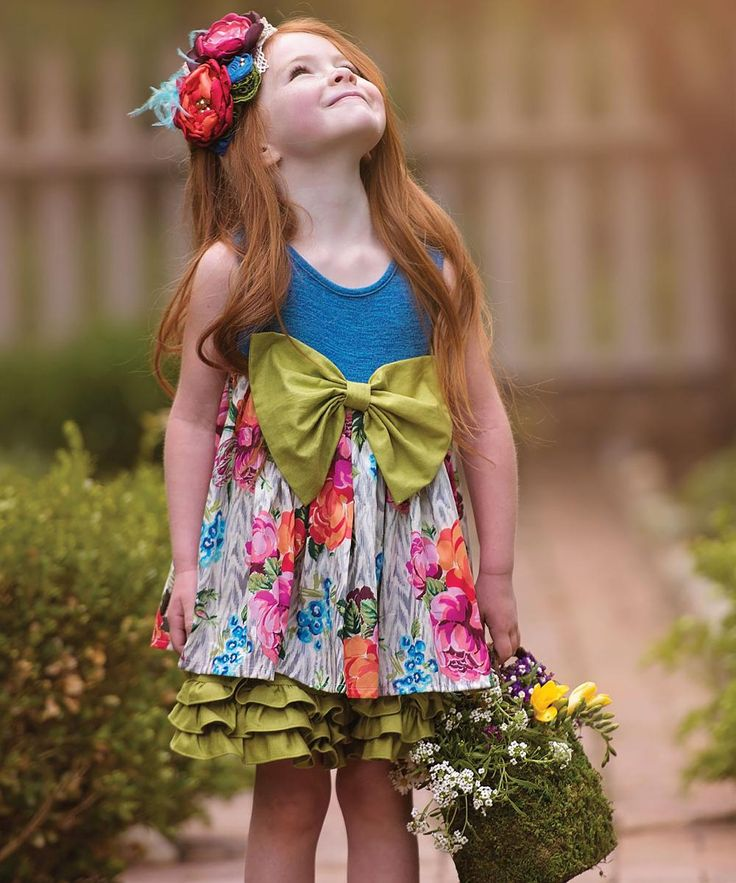 Persnickety Clothing Blue Rose Dress #zulilyfinds #ministyle