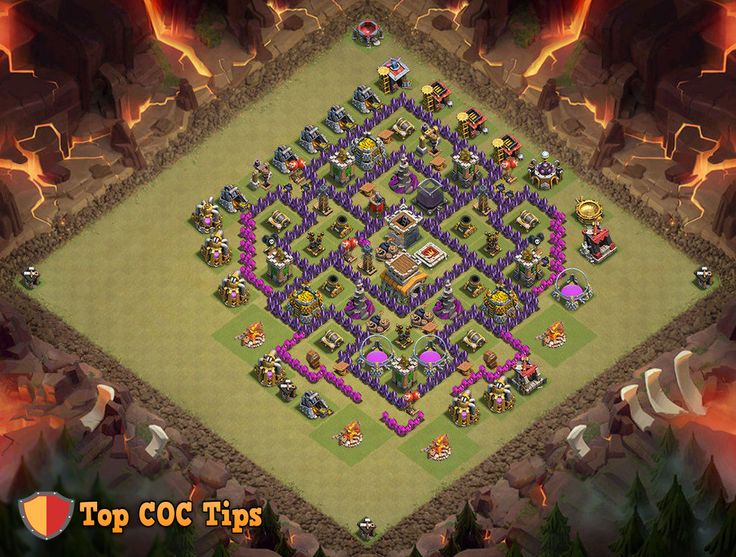 town hall 8 war base 2016