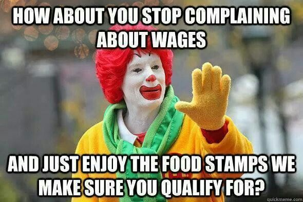 $15 minimum wage keeps the tax payers from paying McDonalds employees. It boosts the local economy while reducing the need for offshore tax shelters.