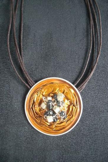 colliers avec des capsules nespresso