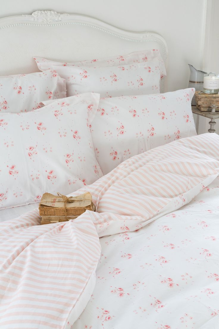 CABBAGES & ROSES for John Lewis | Catherine Rose Pink Bed Linen