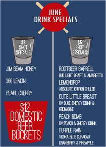 memorial day bar specials houston