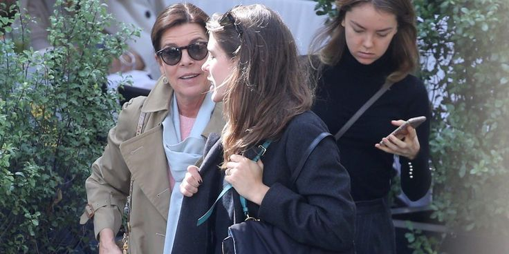 Carolina de Mónaco evita a Dimitri Rassam en una comida con Carlota Casiraghi en París