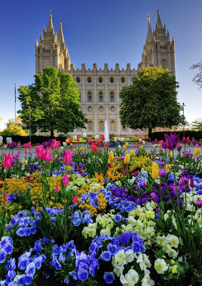 Salt lake Temple Utah .I want to go see this place one day.Please check out my website thanks. www.photopix.co.nz