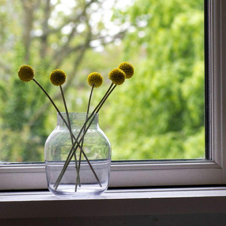 Drum sticks and Muuto Silent Vase