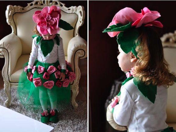 Idee di carnevale: il costume da rosa