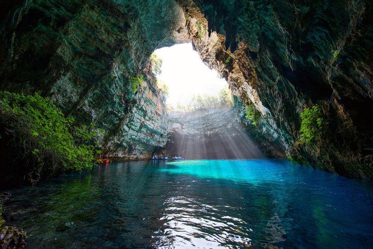VISIT GREECE| Fairytale in Melissani cave #kefalonia#visitgreece #greece