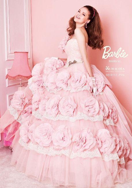 Barbie Bridal gown