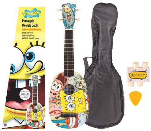 SpongeBob SquarePants: Pineapple Ukulele Outfit. £37.00