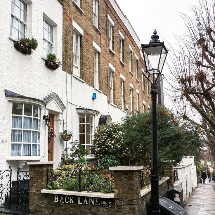 Hampstead village, London