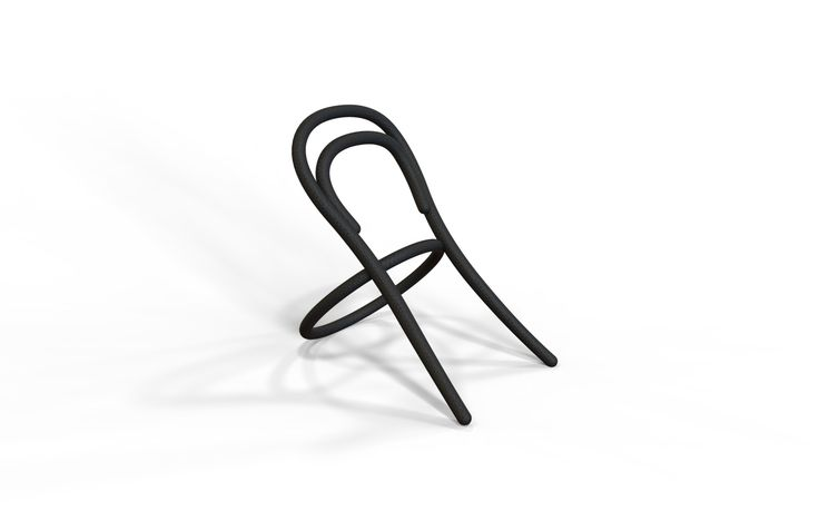 A chair to wear as a reminder of a pioneer of the design. Made in 3D printing, if offered will be surprised the lucky design victim!  Technology: 3D print Mater