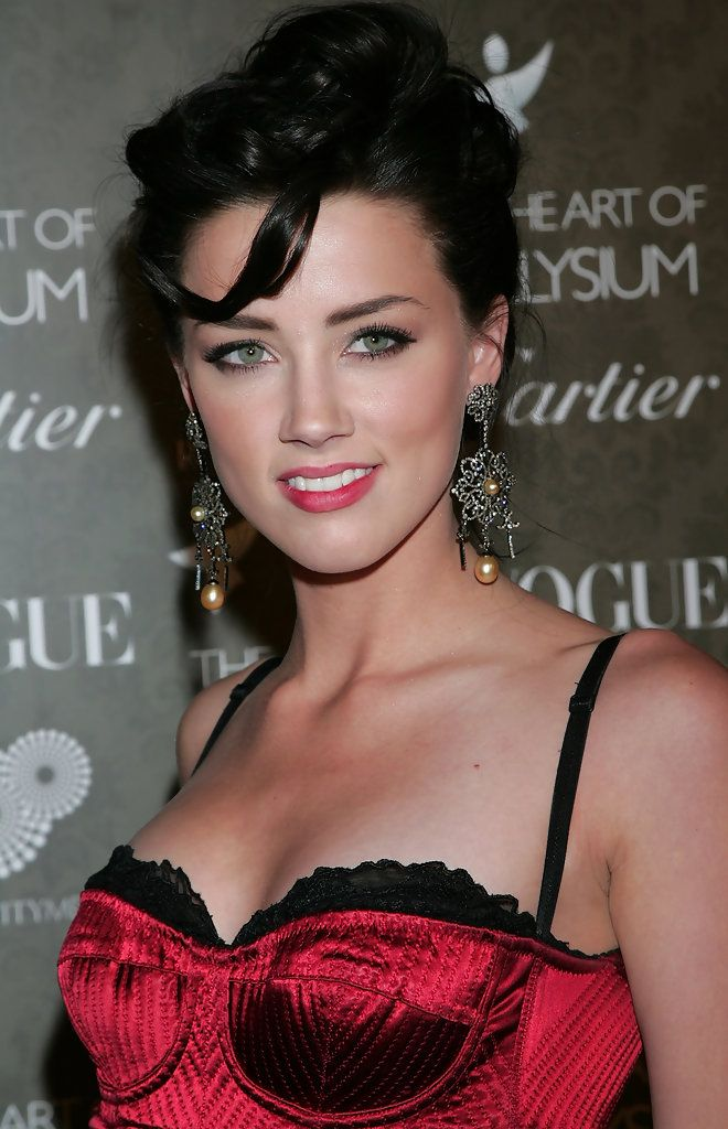 Ingeniously talented Amber Heard