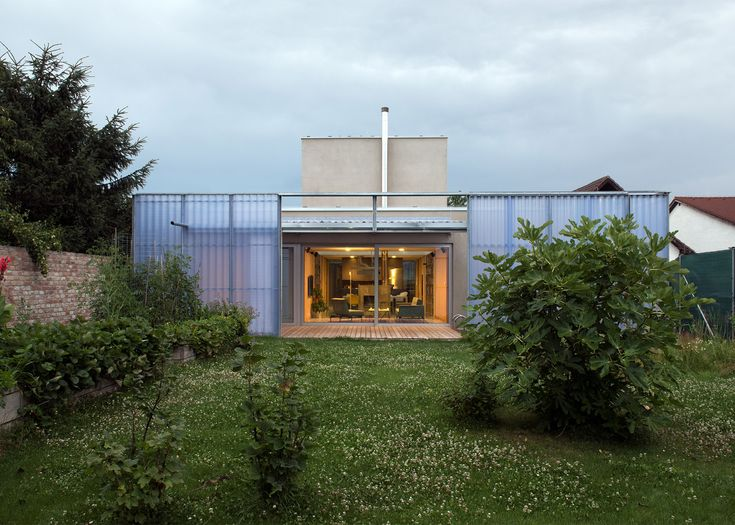 Plural Completes Plastic Clad House In Slovakia With Inner And Outer Layers