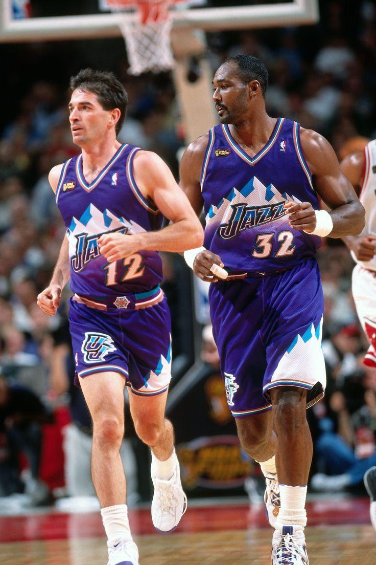 John Stockton & Karl Malone - Utah Jazz 1998