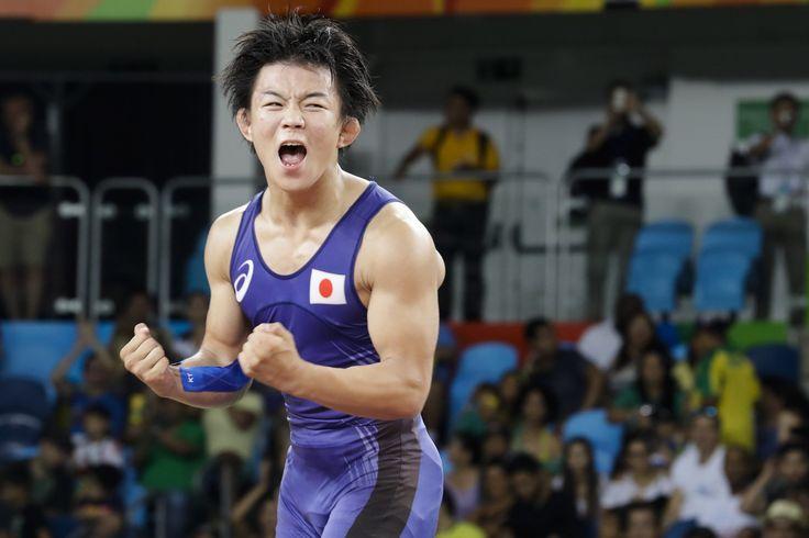 【DAY15】レスリング男子フリースタイル57kg級で樋口黎選手が銀メダルを獲得しました! #がんばれニッポン #レスリング #Rio2016