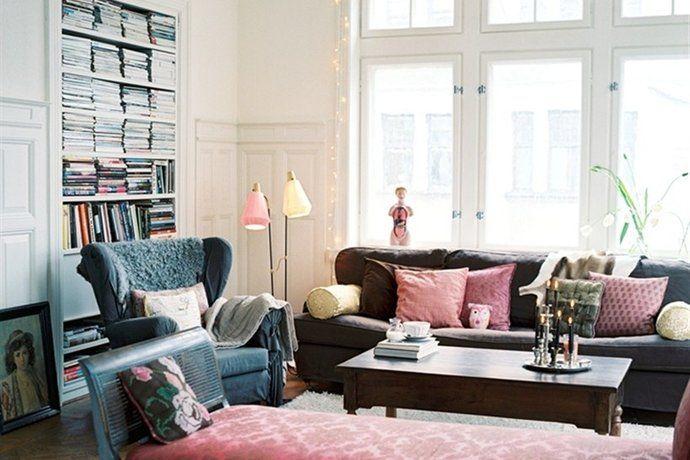 Bilder, Vardagsrum, Romantiskt, Soffa, Fönster - Hemnet Inspiration