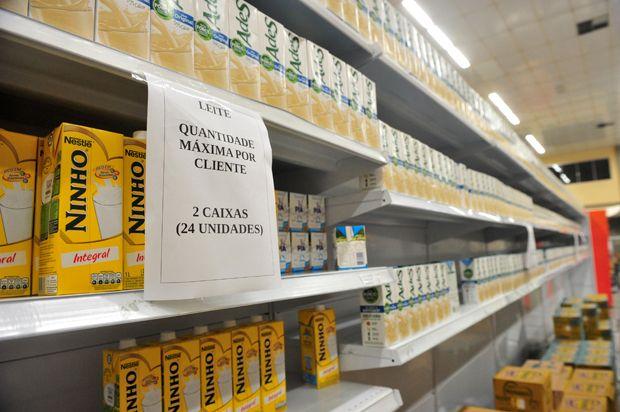 Joinville já sente os efeitos da greve dos caminhoneiros +http://brml.co/1zS7If1