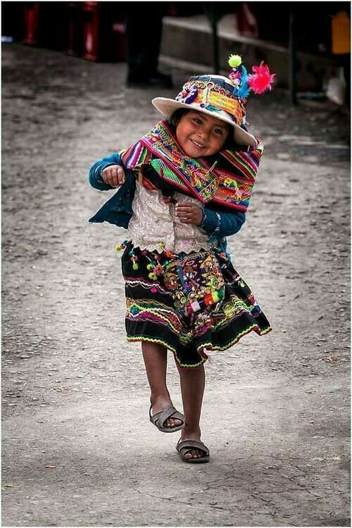 Smiling little girl.