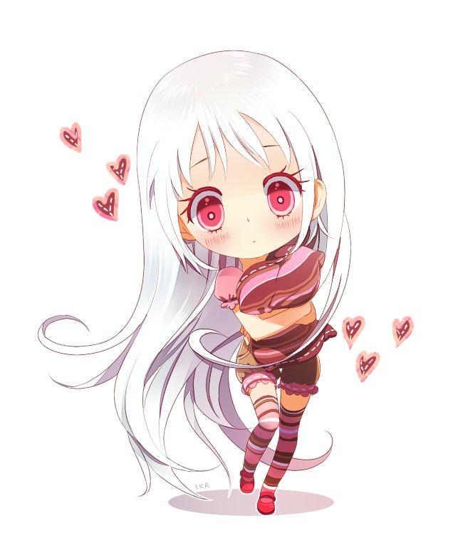 Anime Girl Chibi: Comm: Luna By Ikr On DeviantART