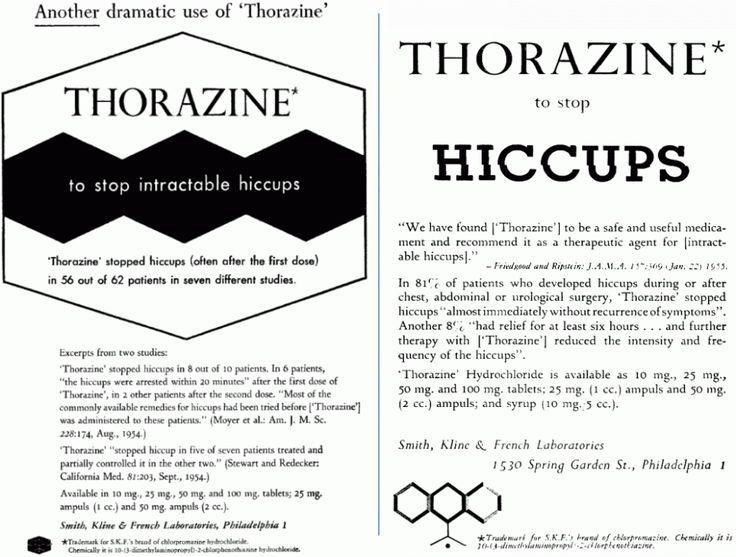 Thorazine Dosing