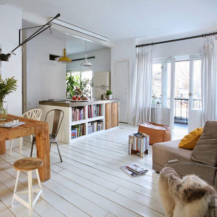 Un casa luminosa y sencilla que transmite paz.