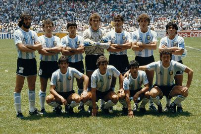 The 1986 Argentina National Team and FIFA World Cup Champions!