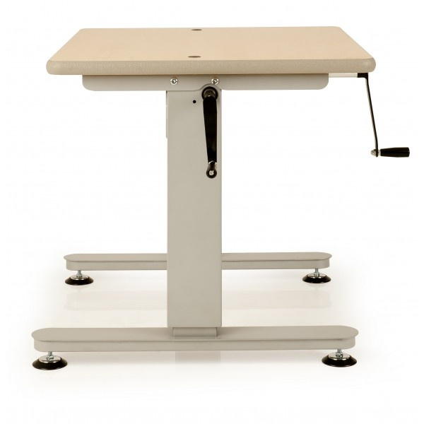 Height Adjustable Tables With Side Crank Handle Sewing