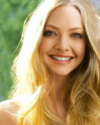 Amanda Seyfried. I guess I have a thing for blondes and pretty eyes.